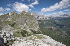 Free Trekking In Italian Dolomites Stock Photo - 20174380