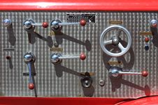 Free The Control Equipment Of Fire Truck Stock Image - 20174471