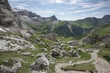 Free Italian Alps, Dolomites - Contrin Valley Royalty Free Stock Images - 20174769