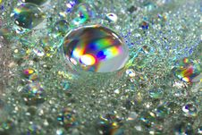 Free Shiny Colorful Drops Of Water Stock Image - 20175071