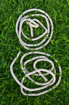 Free Manila Rope Coiled. Stock Photography - 20175252