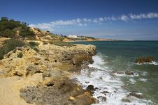 Free Albufeira Coastline Stock Photo - 20175260