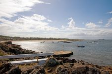 Free On The Scottish Coast Royalty Free Stock Image - 20175646