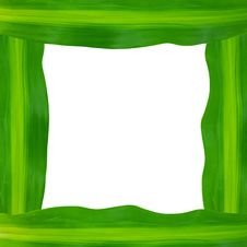 Free Green Leaves Frame Stock Image - 20175851