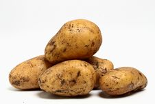 Free Potatoes. Royalty Free Stock Images - 20176519