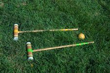 Free Croquet Royalty Free Stock Image - 20176526