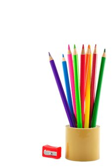 Free Beautiful Color Pencils Stock Images - 20176824
