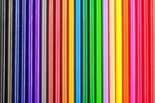 Free Closeup Of Color Pencils Colorful Gradient Royalty Free Stock Photo - 20177085
