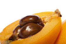 Loquat Fruit Royalty Free Stock Photography