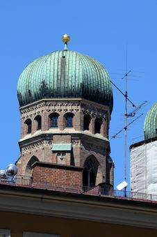 Free Tower Frauenkirche In Munich Royalty Free Stock Images - 20178549