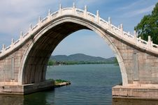 Free Bridge In Summer Palace. Royalty Free Stock Photo - 20179055
