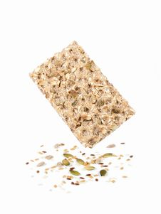 Free Wholegrain Rye Crispbread Stock Photo - 20179230