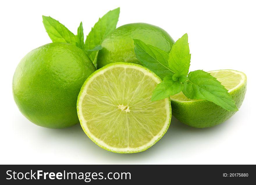 Citrus with mint