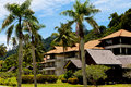 Free A Luxury Resort Near A Forest Royalty Free Stock Image - 20182076