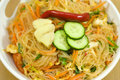 Free Salad Of Korean Noodle Royalty Free Stock Images - 20184099