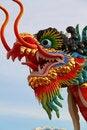Free Chinese Dragon Statue Stock Image - 20185971