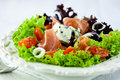 Free Gorgonzolla And Prosciutto Crudo Salad Royalty Free Stock Photography - 20188377