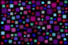 Free Creative Background With Colorful Blurred Squares Stock Image - 20180511