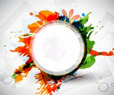 Free Abstract  Colorful Shapes Background Stock Photos - 20181273