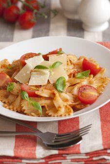 Free Tomato Pasta Stock Image - 20181491
