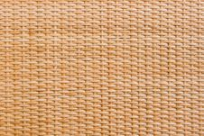 Free Wooden Weaving Wicker Background Stock Photo - 20181520
