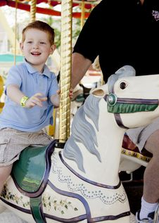 Free Carousel Ride Stock Images - 20181634