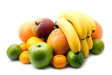 Free Assortment Of Fresh Fruits Stock Images - 20182174