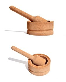 Free Wood Pestle 0014 Royalty Free Stock Photos - 20182688