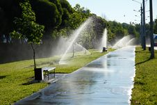 Free Street Shower Fountain Stock Photos - 20184023