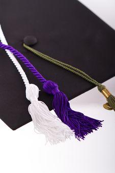 Free Graduation Cap Royalty Free Stock Image - 20184116