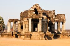 Free Angkor Wat, Cambodia Royalty Free Stock Photo - 20184735