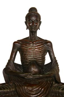 Free Statue Of Ascetic Royalty Free Stock Photo - 20185515