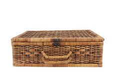 Free Rattan Weave Suitcase Stock Photo - 20186160