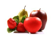 Free Heart And Fruits Stock Photos - 20186303