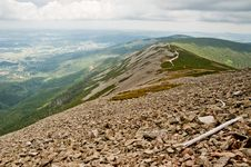 Rocky Mountain Slope Royalty Free Stock Photography
