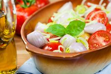 Fresh Vegetables For Healthy Dinner Stock Images