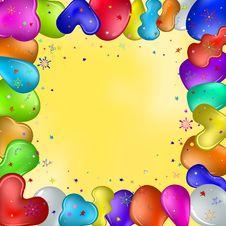 Free Balloons And Stars Stock Photos - 20188443