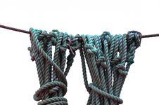 Free Ship Ropes Royalty Free Stock Image - 20188626