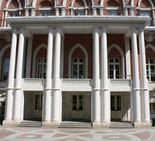 Free South Facade Of The Palace In Tsaritsyno (Moscow) Stock Images - 20189224