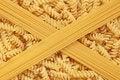 Free Fusilli Pasta And Spaghetti Stock Image - 20193991