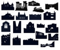 Free Silhouette-02 Architecture Stock Images - 20194424