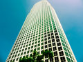 Free Skyscraper In Downtown, Los Angeles Stock Photography - 20194962