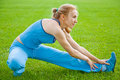 Free Woman Stretching Before Fitness Stock Photography - 20195152