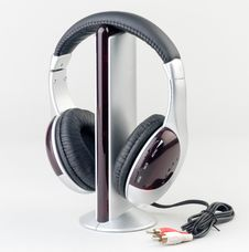 Free Audio Player With Headphone Royalty Free Stock Photo - 20193285