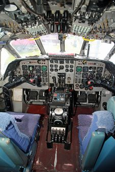 Free Nimrod Mr.2  Aircraft   Cockpit Stock Images - 20193344