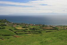 Free View On Village On Azores Royalty Free Stock Images - 20193589