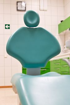 Free Dental Chair In Dental Clinic Stock Image - 20193721