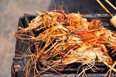 Free Barbecue Shrimp Stock Image - 20194501