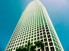 Skyscraper In Downtown, Los Angeles Stock Photography