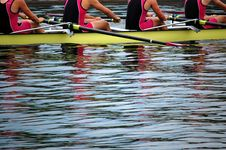 Free Rowers In Action Stock Image - 20195141